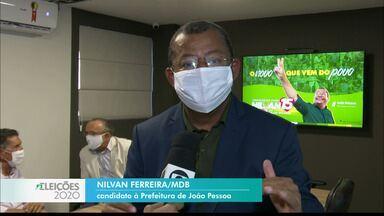 Nilvan Ferreira fala de suas propostas para a saúde - Candidato do MDB esteve em Manaíra com profissionais da área.