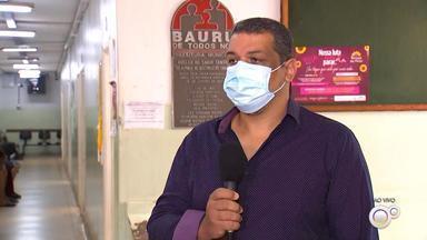 Cobertura vacinal está abaixo da meta e preocupa autoridades em Bauru - A campanha de multivacinação do governo de estado está prevista para terminar nesta sexta-feira (13). No entanto, mesmo depois do prazo ter sido prorrogado, as autoridades de saúde estão preocupadas porque a cobertura vacinal está muito baixa em Bauru (SP).