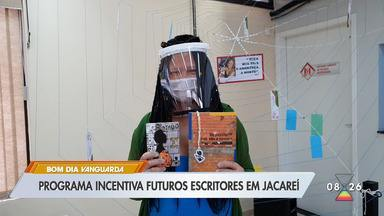 Programa incentiva futuros escritores em Jacareí - Confira as informações.