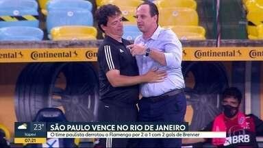 São Paulo ganha do Flamengo em estreia de Rogério Ceni - Técnico ainda não venceu o time pelo qual virou ídolo.