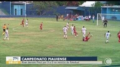 River-PI vence no retorno do Campeonato Piauiense; veja tabela - River-PI vence no retorno do Campeonato Piauiense; veja tabela