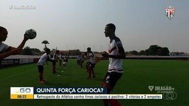 Atlético-GO vai enfrentar o Flamengo no próximo jogo - Time goiano tem saldo positivo diante dos times cariocas, são 2 vitórias e 2 empates.