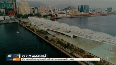 O que os cariocas esperam do amanhã? - Pesquisa feita pelo Museu do Amanhã aponta o que os moradores do Rio querem para a cidade