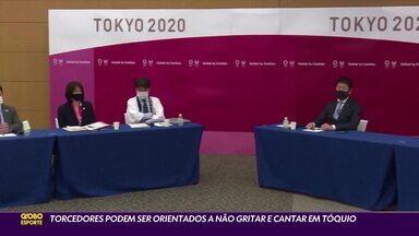 Torcedores podem ser orientados a não gritar e catar em Tóquio - Torcedores podem ser orientados a não gritar e catar em Tóquio