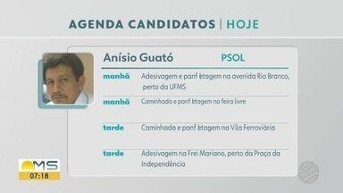 Confira a agenda dos candidatos a prefeito de Corumbá nesta quinta-feira (12) - Confira a agenda dos candidatos a prefeito de Corumbá nesta quinta-feira (12)