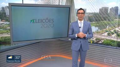 SP1- Edição de sábado, 14/11/2020 - Saiba tudo no especial sobre as eleições municipais. Em São Paulo, são quase nove milhões de eleitores. E os milhões gastos na campanha eleitoral. E mais as notícias da manhã;