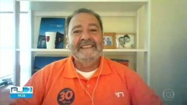 Fred Luz (NOVO) faz transmissão pela internet na véspera das eleições - Fred Luz (NOVO) faz transmissão pela internet na véspera das eleições.