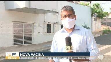Vacina contra Meningite é disponibilizada em postos de saúde de Teresina - Vacina contra Meningite é disponibilizada em postos de saúde de Teresina