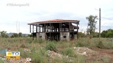 Antigo prédio da Assembleia do Tocantins está abandonado; confira - Antigo prédio da Assembleia do Tocantins está abandonado; confira