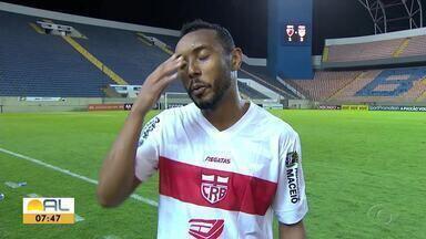 Claudinei fala sobre gol marcado na partida contra o Oeste - Volante ajudou o Galo a vencer o lanterna da Segundona.