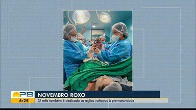 Conheça histórias de mães que tiveram bebês de forma prematura - Novembro Roxo é dedicado à conscientização da prematuridade