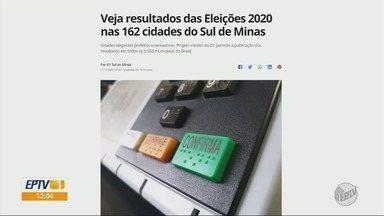 G1 destaca resultado das eleições de todas as cidades do Sul de Minas - G1 destaca resultado das eleições de todas as cidades do Sul de Minas