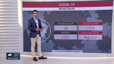 Pandemia acelera em Minas - Média móvel de mortes diárias aumentou em 66% na análise dos últimos 14 dias.