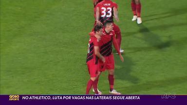 Athletico vive drama na lateral-direita - Jonathan sofre com lesões, Khellven não consegue se afirmar e Erick acaba improvisado no Furacão