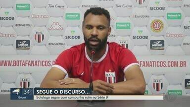 Botafogo-SP continua na zona de rebaixamento na Série B do Brasileiro - Capitão do time, Zagueiro Róbison falou sobre a situação do time.