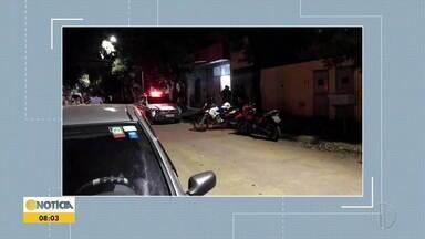 Bebê de 7 meses é baleado em Governador Valadares - Criança estava no colo do irmão, de 17 anos, que era o alvo do disparos. Adolescente não foi atingido.