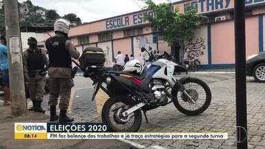 Eleições municipais foram tranquilas na região, diz Polícia Militar - Órgão já iniciou trabalhos para garantir segurança no 2º turno em Governador Valadares.