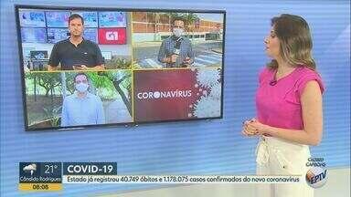 Covid-19: Estado de São Paulo registra 40.749 óbitos e 1.178.075 casos confirmados - Cerca de 548 mil infectados são do sexo masculino e 623 do feminino. Mais de 1 milhão de pessoas já se recuperaram da doença no estado.