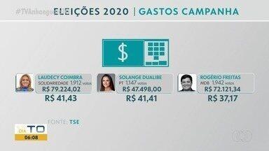 Saiba quanto custou cada voto dos vereadores eleitos em Palmas - Saiba quanto custou cada voto dos vereadores eleitos em Palmas