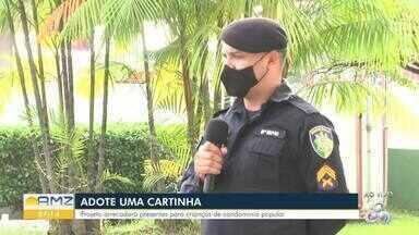 Batalhão da Polícia Militar em Porto Velho faz ação pra arrecadação de presentes - Presentes das cartinhas adotadas serão entregues no residencial Morar Melhor.