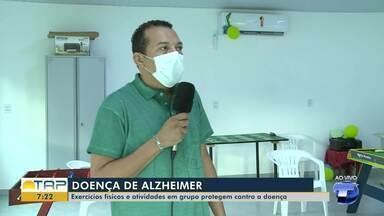 Exercícios físicos e atividades em grupo protegem contra o Alzheimer - Confira as dicas para prevenção.