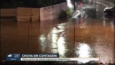 Chuva forte atinge cidades da região metropolitana e provoca alagamentos - Defesa Civil atendeu a vários chamados.