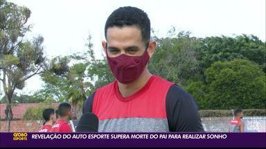 Revelação do Auto Esporte supera morte do pai para realizar sonho - Gabriel, do time sub-19 do Macaco Autino, conta a sua saga no futebol