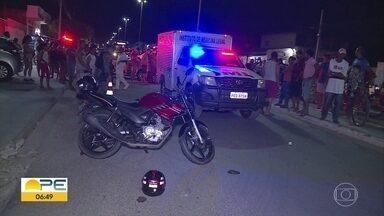 Acidentes com moto em Petrolina preocupam autoridades de saúde - Maior parte dos acidentes registrados envolvem o veículo no Sertão.