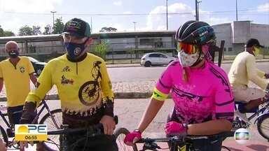 Ciclistas reclamam de assaltos ao pedalar pelo Grande Recife - Polícia Militar afirmou, no entanto, que número de registro de crimes caiu em comparação com 2019.