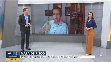 Prefeito reeleito de Concórdia, Rogério Pacheco, testa positivo para coronavírus - Prefeito reeleito de Concórdia, Rogério Pacheco, testa positivo para coronavírus