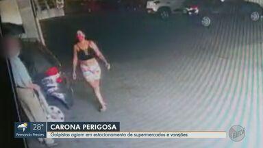 Suspeitas de extorquir idosos são presas em Ribeirão Preto, SP - Suspeita é que mulheres pediam carona para vítimas em supermercados e varejões.
