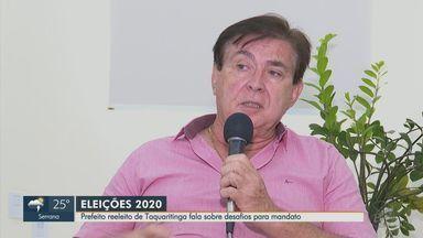 Eleição 2020: prefeito reeleito de Taquaritinga fala sobre desafios para mandato - Vanderlei Mársico, do PSDB, foi eleito com 49% dos votos válidos.