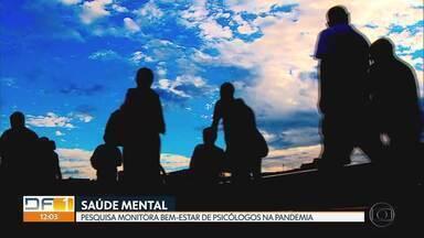 Pesquisadores da UnB querem saber como está a saúde e o bem-estar dos psicólogos - Equipe entrevistou profissionais em todo país pra conhecer os impactos da pandemia no exercício da psicologia.
