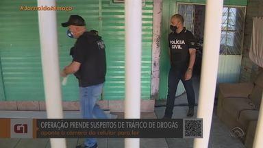 Polícia prende suspeitos em ação contra o narcotráfico na Região Metropolitana - Terceira e última fase de operação cumpre mais de 50 ordens judiciais no Rio Grande do Sul e em Santa Catarina.