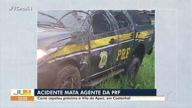 Corpo de agente da PRF que morreu em acidente na BR-316 é liberado para sepultamento - Acidente ocorreu em trecho no município de Castanhal, nordeste do Pará.