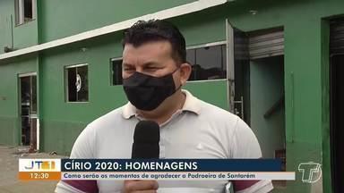 Círio 2020: como serão os momentos de agradecer a padroeira de Santarém - Círio será neste domingo (22).