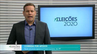 Rede anuncia apoio a Cícero Lucena (Progressistas) em João Pessoa - Candidato disputa o 2º turno das eleições 2020 contra Nilvan Ferreira.