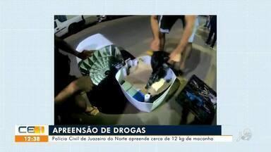 Polícia Civil de Juazeiro do Norte apreende cerca de 12kg de maconha - Saiba mais no g1.com.br/ce