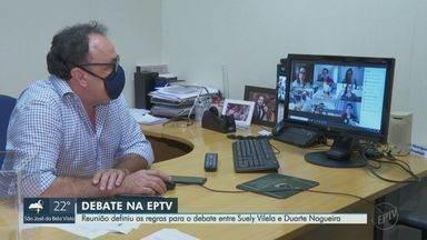 EPTV realiza debate com candidatos do segundo turno à Prefeitura de Ribeirão Preto - Transmissão ao vivo pela TV e pelo G1 Ribeirão e Franca será na sexta-feira (27) após a novela A Força do Querer.
