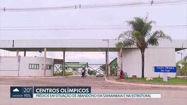 Centros Olímpicos estão em situação de abandono - A Secretaria de Esportes e Lazer disse que todos os 12 Centros Olímpicos devem passar por reformas num prazo de seis meses.