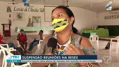 Justiça determina suspensão de reuniões sobre planos de manejo na Resex Tapajós-Arapiuns - Reuniões em Vila Boim tratariam sobre plano de manejo em favor da cooperativa Coopemaro.