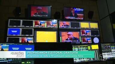 Propaganda eleitoral gratuita inicia nesta sexta-feira no rádio e TV, em Santarém - Concorrem no segundo turno das eleições Nélio Aguiar (DEM) e Maria (PT).