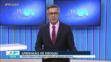 PF intercepta avião com drogas em Ipixuna - PF intercepta avião com drogas em Ipixuna