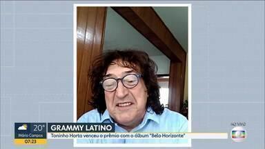 Músico Toninho Horta e Orquestra Fantasma vencem o Grammy Latino 2020 - Compositor Toninho Horta e Orquestra Fantasma vencem o Grammy Latino 2020 com o álbum 'Belo Horizonte', em comemoração aos 50 anos do artista.