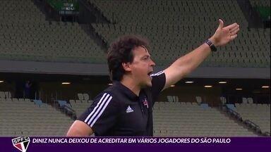 Fernando Diniz: o técnico que nunca duvidou do elenco do São Paulo - Fernando Diniz: o técnico que nunca duvidou do elenco do São Paulo
