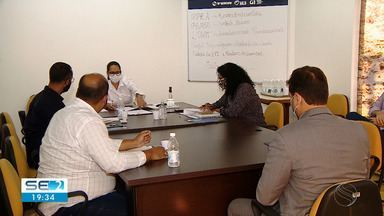 TV Sergipe realiza reunião com representantes de partidos - TV Sergipe realiza reunião com representantes de partidos.