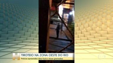 Moradores ficam no meio do tiroteio no Rio - Milicianos e traficantes disputam controle do território na comunidade do Bateau Mouche.