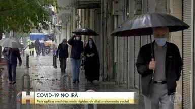 Irã adota novas medidas de isolamento social - Comércio não essencial vai ficar fechado no país por pelo menos duas semanas