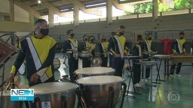 Copa de Bandas e Fanfarras movimenta escolas de todo o estado - Alunos de 149 instituições participam do campeonato, que está diferente por causa da pandemia.