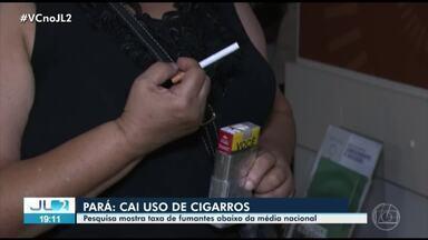 Pará tem redução do número de fumantes, aponta IBGE - Dado foi levantado nacionalmente pelo IBGE.